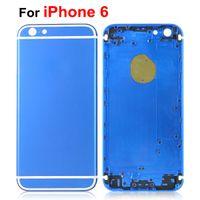 For iPhone6 Back Housing Cover Aluminium Metal Battery Door ...
