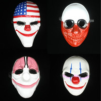 New Arrival Halloween Party Decoration Mask Payday 2 Theme G...