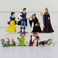 Princess Snow White And The Seven Dwarfs Queen Prince PVC Fi...