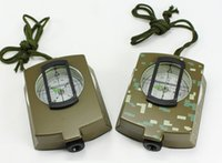American camouflage outdoor camping compass. Army Green Water...