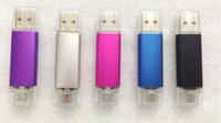 70pcs / lot Nueva 2015 Móvil 32GB 64GB USB YG-2 Flash USB pendrives OTG micro de almacenamiento USB 2.0 LOGO regalo externa
