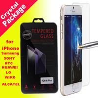Pour iphone 6 4.7 6Plus 2.5D 9H haut de gamme en verre trempé Film Protecteur d'écran Explosion Guard Proof pour iPhone6 4 4S 5 5S 5C, plus SSC011