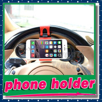 Universal Car Steering Wheel phone scoket Holder Cradle Stre...