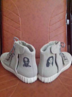Men Shoes Kanye West Yeezy 750 Boost Printed Athletic Boots ...