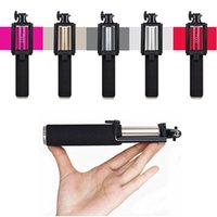 Bluetooth Extendable Mini Selfie Stick Monopod with Zoom Cam...