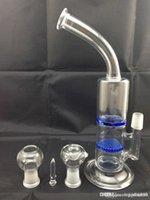 2015 Glass Water Bong Honeycomb Percolator Cyclone Perc Two ...
