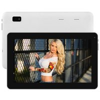 Blanc 9 pouces à écran tactile Tablet PC Android 4.4 ATM 7029B Quad Core 1 Go / 8 Go Dual Camera Wifi Bluetooth Gift