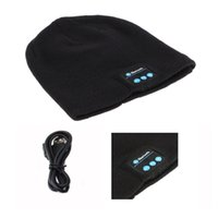 Bluetooth Music Hat Cap with Stereo Headphone Headset Speake...