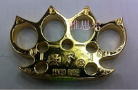 1 PCS STEEL BRASS KNUCKLES KNUCKLE DUSTER Alloy Gold silver ...