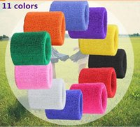 hot sell promotional plain colorful polyester sweatbands wri...