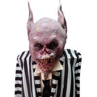 Новый монстр маска Хэллоуин головы Полный День Всех Святых маска Латекс монстр Creepy Scary маска ужаса маска Свободная перевозка груза