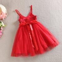 baby girl kids sequin dress sequined dress flower floral tut...