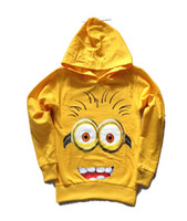 New T- Shirts despicable me minion boys Long sleeve Hoodie t ...