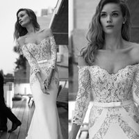 2016 Spring New Arrival Off Shouder Lace Mermaid Wedding Dre...