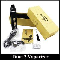 Titan 2 à base de plantes cigarettes Vaporisateur électronique herbes sèches kit II secs LCD Vaporisateur stylo 2200mAh Battery affichage Vaporisateur DHL expédition gratuite