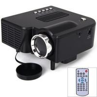UC28 + 1080P HD 400lm 16770K pico portable conduit mini-jeu vidéo HDMI projecteur, poche numérique maison projetor mini-proyector 80