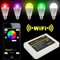 Wireless Intelligent LED Mi Light Lamp Bulb 2. 4G Wifi Remote...