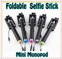 HOT Extendable Wired Selfie Stick Foldable All- in- One mini M...