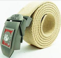 A08 Canvas Belt for Man Military Head Belts 21 Colors Alloy ...