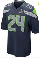 2015 Super Bowl XLIX Jerseys #24 Hot Sale American Football ...