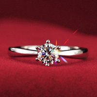 New arrive 1PCS fashion Round Sparking Zircon Silver Plate C...