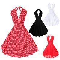 50s rockabilly fashion 2015 New Fashion 50s Hepburn Style Vi...