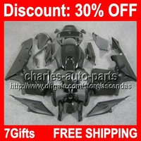7gifts ALL Black Full Fairing Kit For HONDA CBR600RR 05- 06 F...
