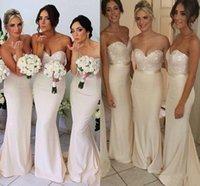 2015 Long Bridesmaid Dresses Sweetheart Maid of Honor Wear S...