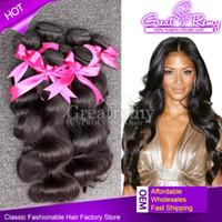 6A Cheap Hair Extensions 100% Virgin Peruvian Hair Bundles H...