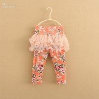 baby girl kids pettiskirt tutu skirt vintage flower floral p...