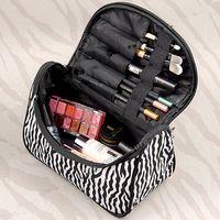 100% Brand New макияж Косметические сумка Водонепроницаемый Косметический случай красоты мешок туалетных Zipper Организатор путешествий Сумки женские