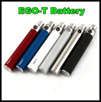 FNewset acteur prix Ego-T Batterie ego T 650/900/1100 mah 510 Thread ego T Batterie match CE4 vivi Nova Atomiseur VS EGO C TWIST Livraison gratuite
