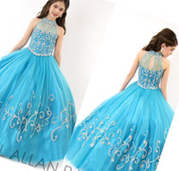 Designer Kids Clothes For Rent Cheap Ball Gown Organza