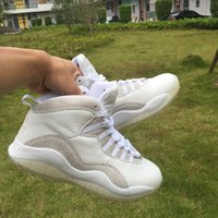 Men' s 10 OVO white Basketball Shoes real version Men Sp...