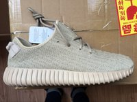 (With Box )2016 New Color Oxford Tan Trainers Low yezy 350 M...