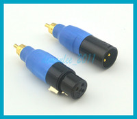 10pcs lot Cool !free shipping with tracking NO. RCA Male to ...