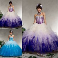 Best Selling Perfect Colorful Quinceanera Dresses Sweetheart...