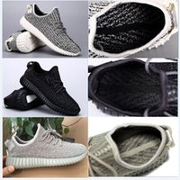 Best Quality boost 350 shoes Moonrock Color All Black Runnin...