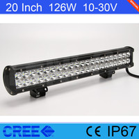 "20"" Inch Cree 126W LED Light Bar For Offroad 4*4 SUV Wr..."