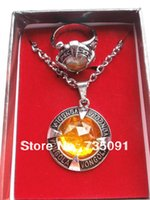 Vente en gros-Livraison gratuite 2 pcs Katekyo Hitman Reborn VONGOLA collier de doigt Set Key Chain