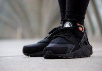 2015 New Black Air Huarache Men casual shoes Discount Sneake...
