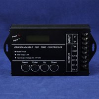 Free Shipping programmable led time controller DC12V 24V 5Ch...