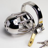 Sex Toys Chastity Belt Stainless Steel Chastity Lock Small C...