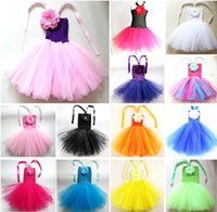 NEW ARRIVAL baby girl kids sleeveless vest dress party ball ...