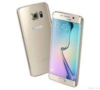 Оригинальный Samsung Galaxy S6 Край G9250 Окта Основные 3 Гб оперативной памяти 64 Гб ROM, LTE 16MP 5.1