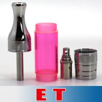 DHL free Steel Tank Detachable ET Atomizer BDC Clearomizer E...