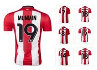 Wholesale Customized 2015 season 19 MUNIAIN Soccer Jerseys s...