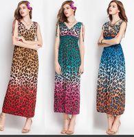 Wholesale Long Summer Dresses Maxi Leopard - Buy Cheap Long Summer ...