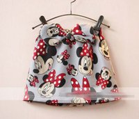 2016 Spring Autumn Girls Minnie Mouse Skirts Children Butter...