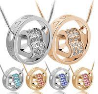 Wedding Brand Fashion Austrian Crystal Rhinestones Zircon Fl...